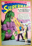 Superman Comic Cover-January 1960-Superman & Lois Lane