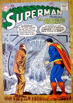Superman Comic Cover-November 1957-Superman w/Zero Eyes