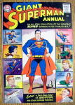 Superman Giant Annual Comic Cover-1960-Superman