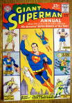 Giant Superman Annual Comic Cover-1962-Superman Cover
