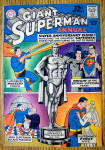 Click here to enlarge image and see more about item 12602: Giant Superman Annual Comic Cover-1963-Superman Cover