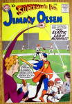 Superman Pal Jimmy Olsen Comic Cover-June 1959-Superman