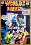 World Finest Comic Cover-November 1963-Superman/Batman