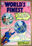 World Finest Comic Cover-December 1960-Superman/Batman