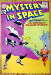 Click here to enlarge image and see more about item 12611: Mystery In Space Comic Cover-February 1961-Raiders Rann