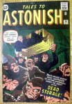 Tales To Astonish Comic Cover-July 1962-Dead Storage