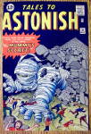 Click to view larger image of Tales To Astonish Comic Cover-May 1962-Mummy's Secret (Image1)