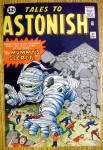 Click to view larger image of Tales To Astonish Comic Cover-May 1962-Mummy's Secret (Image2)