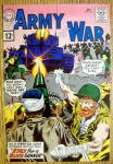 Click to view larger image of Our Army At War Comic Cover-December 1961-Blind Gunner (Image1)