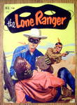 Lone Ranger Comic Cover-April 1952