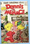 Dennis the Menace-1956 Comic Cover-Dennis & Fireplace