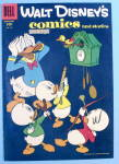 Walt Disney Comic Cover-November 1956-Donald & Nephews