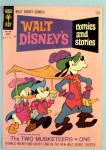 Walt Disney Comic Cover-August 1965-3 Musketeers