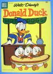 Donald Duck Comic Cover May-June 1950's 3 Nephews