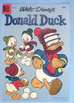 Walt Disney's Donald Duck #51-1957 Dell Comic Cover