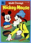 Mickey Mouse Comic Cover #46 1956 Mickey & Goofy