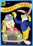 Looney Tunes Comic Cover October 1957 Bugs & Elmer