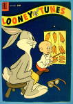 Looney Tunes Comic Cover 1950's Bugs Bunny Eye Test