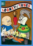 Click to view larger image of Looney Tunes Comic Cover January 1957 Bugs & Elmer (Image1)