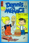 Dennis the Menace Comic Cover #30 September 1958