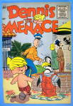 Click to view larger image of Dennis the Menace Comic Cover #14 1955 (Image2)