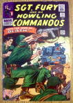 Click here to enlarge image and see more about item 12924: Sgt Fury & His Howling Commandos #31-June 1966