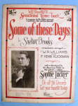 1922 Some Of These Days by Shelton Brooks