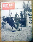 Click here to enlarge image and see more about item 13080: Boys Life Magazine-September 1947-Junior Rodeo