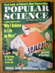 Click here to enlarge image and see more about item 13103: Popular Science Magazine-September 1962-Falcon