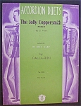 Sheet Music For 1937 The Jolly Coppersmith March