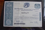 Click here to enlarge image and see more about item 1341: Stock Certificate - 1983 Old Republic International