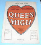 Click here to enlarge image and see more about item 13424: 1926 Queen High by Sammy Lee