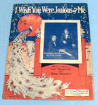 Click here to enlarge image and see more about item 13425: 1926 I Wish You Were Jealous of Me