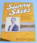 Click here to enlarge image and see more about item 13427: 1928 Sunny Skies featuring Ella Shields