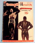 Click to view larger image of Strength & Health January 1941 Joe Mandallo/John Davis (Image1)