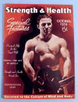 Strength & Health Magazine October 1938 Man & Weight