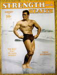 Click here to enlarge image and see more about item 13779:  Jack La Lanne 1947 Strength & Health Magazine Cover