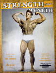 Click here to enlarge image and see more about item 13780: Steve Reeves 1947 Strength & Health Magazine Cover