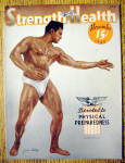 Click here to enlarge image and see more about item 13781: Louis Abele 1940 Strength & Health Magazine Cover