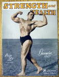 Click here to enlarge image and see more about item 13785: Steve Stanko 1947 Strength & Health Magazine Cover