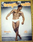 Click here to enlarge image and see more about item 13789: Bob Best 1943 Strength & Health Magazine Cover