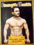 Click here to enlarge image and see more about item 13791: Tom Terpak 1945 Strength & Health Magazine Cover