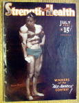 Click here to enlarge image and see more about item 13792: Harold Woomer 1941 Strength & Health Magazine Cover