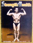 Click here to enlarge image and see more about item 13795: Rudy Gambacorta 1941 Strength & Health Magazine Cover