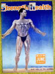 Click here to enlarge image and see more about item 13796: Gene Jantzen 1941 Strength & Health Magazine Cover