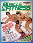 Click here to enlarge image and see more about item 13827: Weider Muscle & Fitness December 1986 Jane & Rich