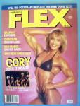 Click here to enlarge image and see more about item 13840: Joe Weider Flex Magazine April 1987 Cory Everson