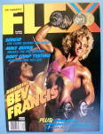 Click here to enlarge image and see more about item 13842: Joe Weider Flex Magazine December 1987 Bev Francis