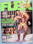 Click here to enlarge image and see more about item 13843: Joe Weider Flex Magazine October 1988 Phil Hill