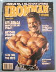 Iron Man Magazine March 1988  Lee LaBrada